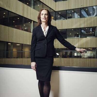 Caroline Farberger, CEO of ICA Insurance