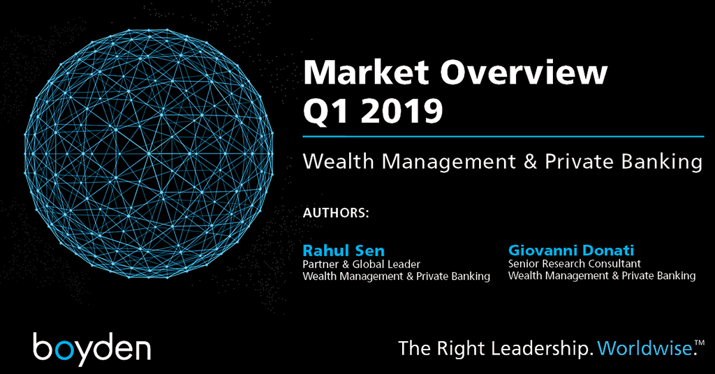 Wealth Management & Private Banking: Market Overview Q1 2019
